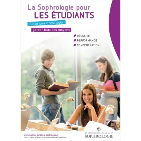 Affiche La Sophrologie pour les étudiants