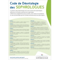 Code de Déontologie des Sophrologues