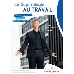 Affichette A4 - La sophrologie au travail
