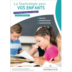 Affichette A4 - La Sophrologie pour vos enfants